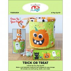 FAT QUARTER GYPSY TRICK OR TREAT POP-UPS