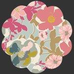 ART GALLERY QUILTS HRT-85300-Blomma-Garden-Pastiche
