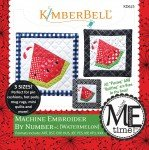 KIMBERBELL CD MACHINE EMBROIDER BY NUMBER - WATERMELON