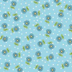 LORALIE JOY JOURNEY 692-384 DAISY DOTS BLUE