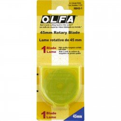 OLFA ROTARY CUTTER BLADE RB45-1
