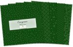 WILMINGTON  EVERGREEN 5 in SQUARES 42 PIECES