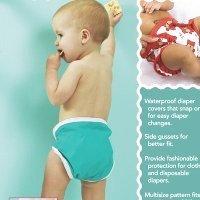 SEW BABY SNAP HAPPY DIAPER COVERS SB34