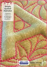 FLORIANI SIMPLY QUILTED ALPHABET COMPLETE COLLECTION