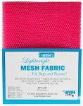 BY ANNIE LIGHTWEIGHT MESH FABRIC  - LIPSTICK