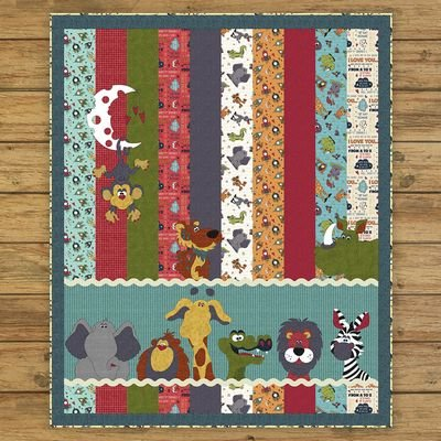 WHOLE COUNTRY CABOODLE-MOON & BACK CRITTER QUILT