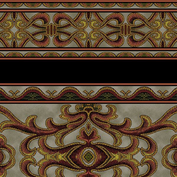 Jinny Beyer's Corsica Border Fabric