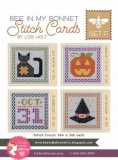 Bee In My Bonnet Halloween Stitch Card Set F