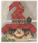 Raffia Scarecrow