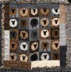 Baa Baa Black Sheep Rag Quilt