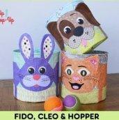 Fido, Cleo and Hopper