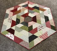Holiday Hexagon Tree Skirt