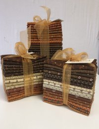 Cheddar and Chocolate Fat Quarter Tower Pam Buda Marcus Fabrics