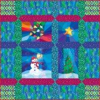 Winter Lights Quilt Kit