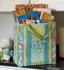 Quilt as you Go Shoppers Tote
