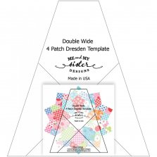 Double Wide Four Patch Template