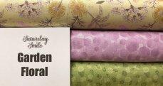 Garden Floral 3-Yard Quilt Kit