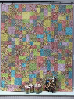 East Street Quilt made with Coco Fat Quarter Bundle