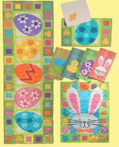 Hoppity Easter Pattern