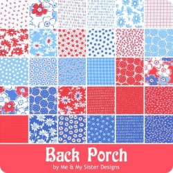 Back Porch Fabric Card
