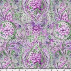 Bohemian Purple Paisley