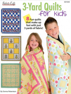 Kids 3 yard quilts