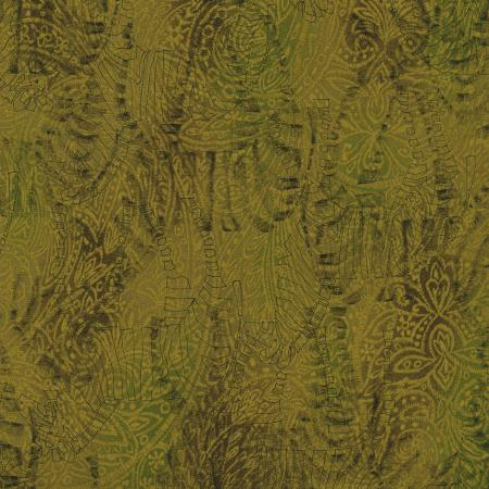 Jinny Beyer's Safari Collection - Zebra - Olive Fabric