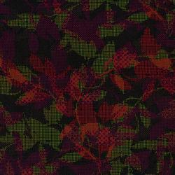 Jinny Beyer's Safari Collection - Maze - Black/Red Fabric