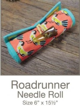 Roadrunner Needle Roll Pattern from Sue Spargo