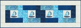 Sailing Patchwork Seas Runner