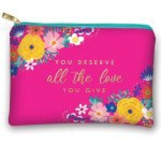 You Deserve All The Love Glam Pouch