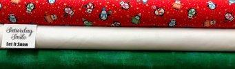 Let It Snow 3-yard Quilt Kit