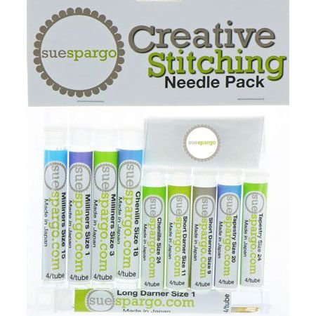 Creative Stitching Needle Pack from Sue Spargo