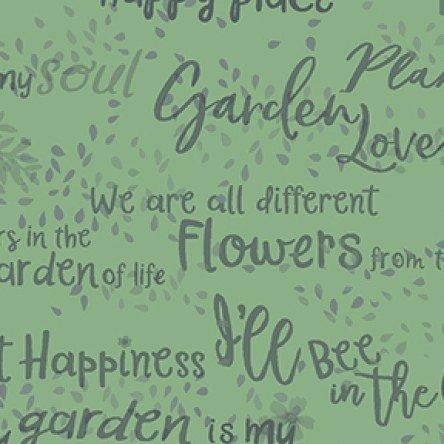 Garden Notes 4-Yard Backing