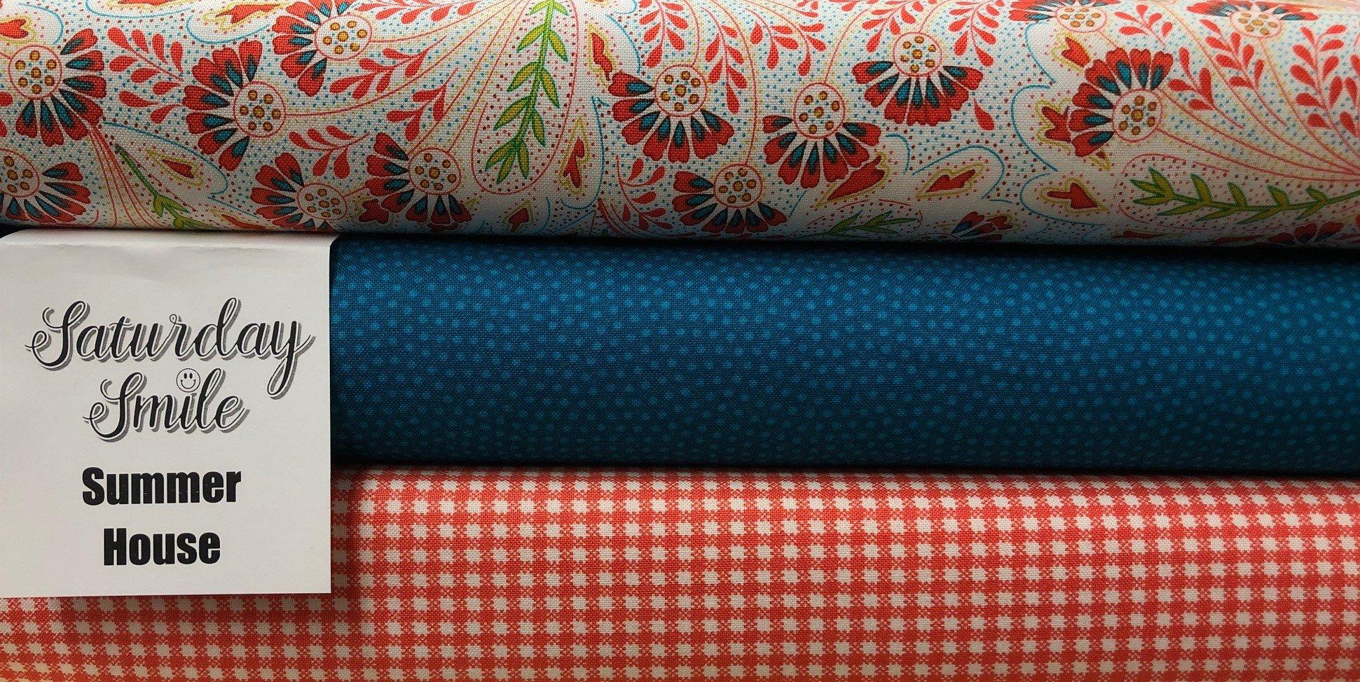 Summer House 3-Yard Quilt Kit