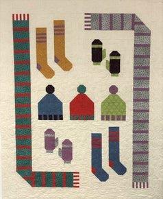 Frosty Fun Flannel Quilt