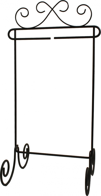 Single Scroll Stand (6 x 12)