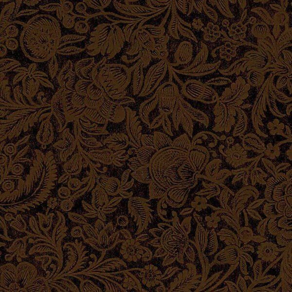 Jinny Beyer's Summer Lily collection - Floral Brown