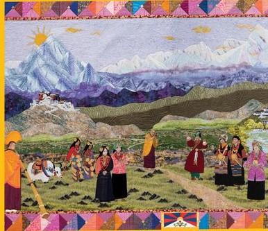 Free Tibet Quilt Puzzle