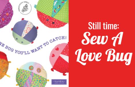 Sew A Little Love Bug