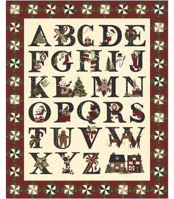 CHristmas Alphabet Quilt Puzzle