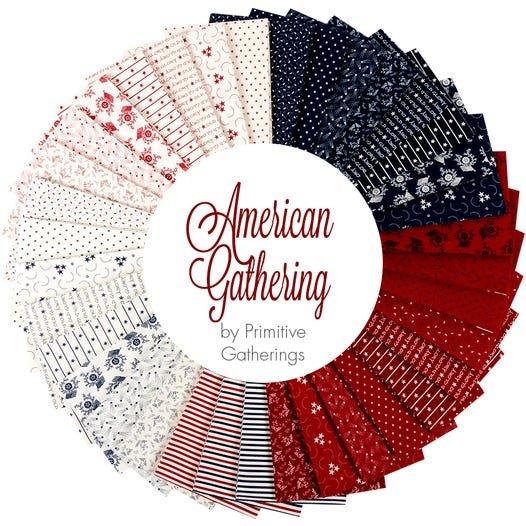 American Gathering Fat Quarter Bundle - 36 Pieces