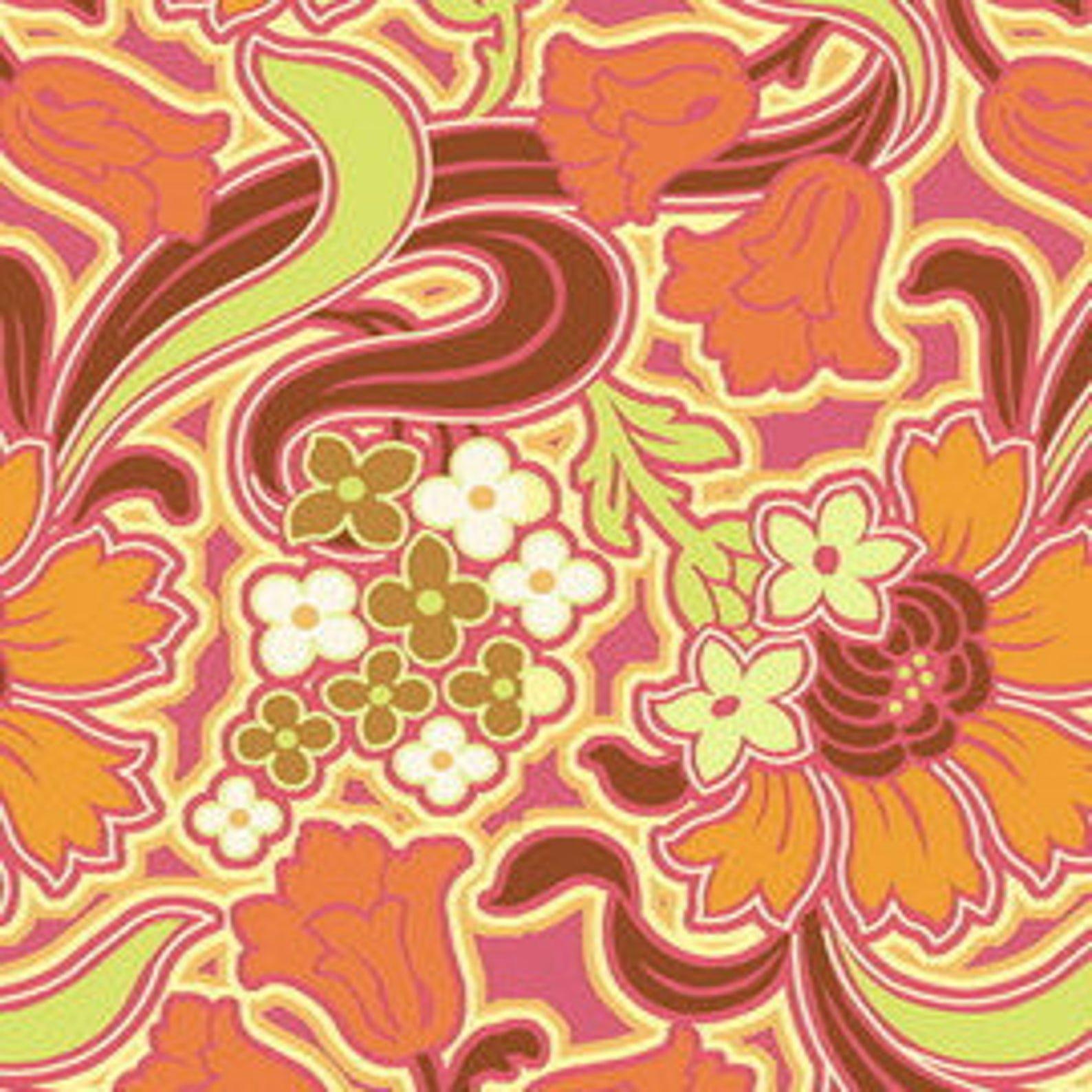 Disco Flower Tangerine