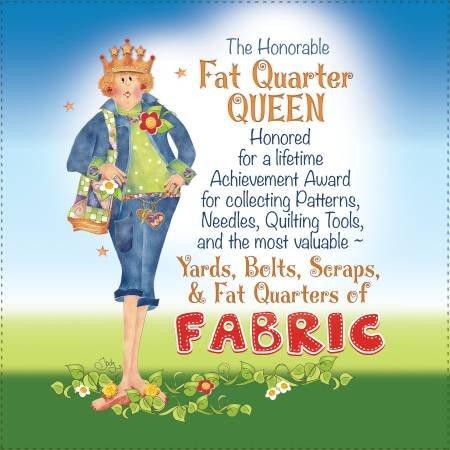 Fat Quarter Queen