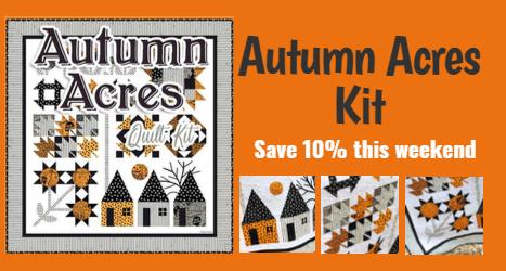 Autumn Acres Kit Save 10% this weekend