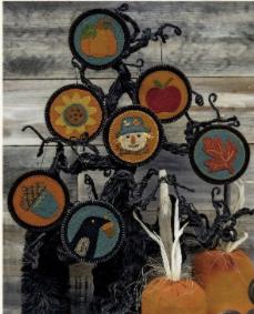 Autumn Penny Ornaments
