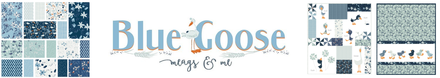 Blue Goose by Meags & Me