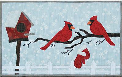 Cardinals N Mittens w/Buttons