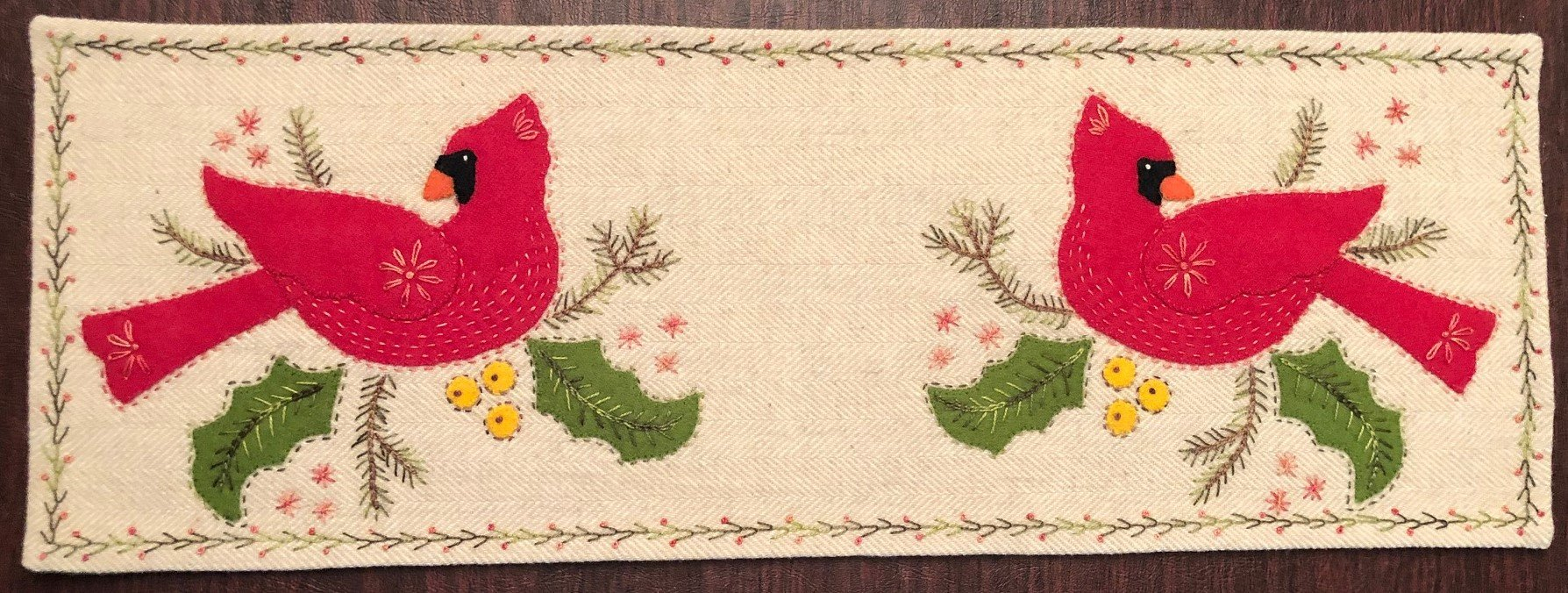 Cardinal Table Mat