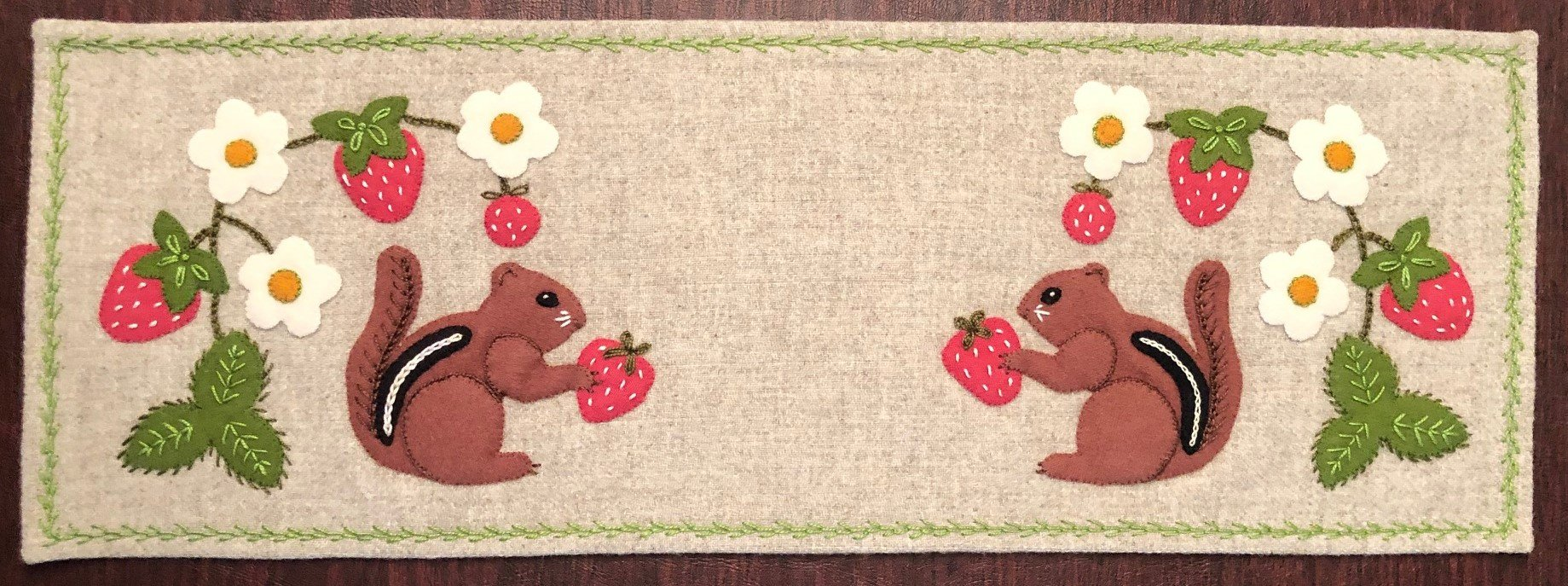 Chipmunk Table Mat